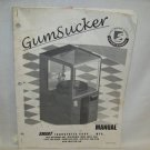 GumSucker Arcade Game Manual Original