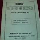 Choplifter Original Instruction Manual by Sega