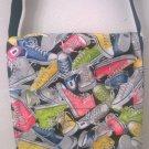 Sneakers Print Children Messenger / Cross Body Bag