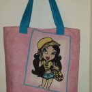 Lil' Bratz  2-Sided Pink Picture Tote Bag