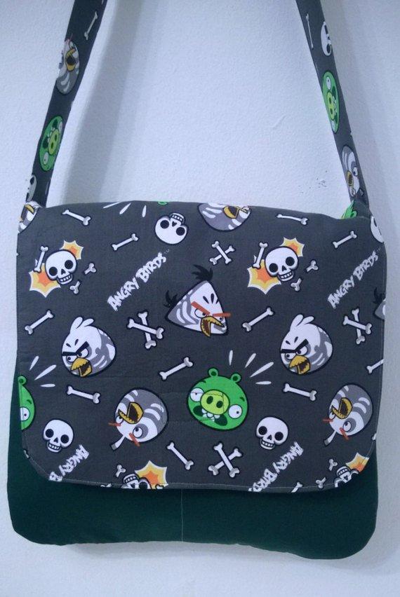 Angry Birds, Gray Kids, Toddler, Messenger, Cross Body Bag