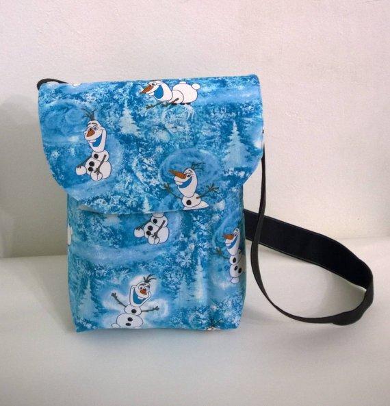 Olaf the Snowman Unisex Toddler Messenger, Cross Body Bag