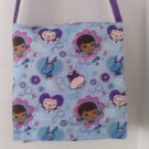 Doc McStuffins and Friends Colorful Inspired Messenger Bag, Cross-body Bag for Toddlers