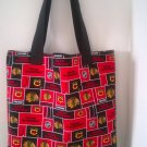 Large Chicago Blackhawks Handmade Tote