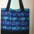 DR. WHO's Blue Tardis VWORP! Tote