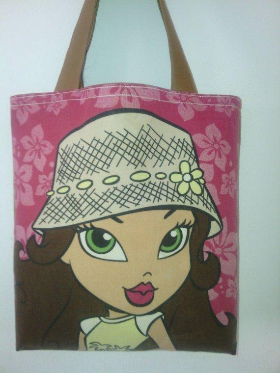 Bratz's  Inspired Sasha Picture Tote Bag