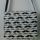 Mustache Shoulder / Messenger  /Cross Body Bag