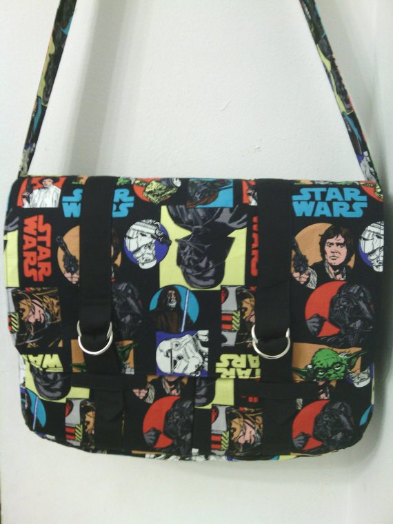 Large Star Wars Inspired Messenger  /Cross Body Bag