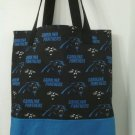 Carolina Panthers Inspired Handmade Tote