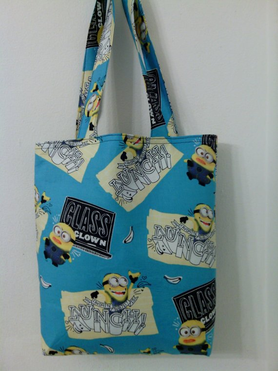 Despicable Me, Minion's Class Clown Tote for Young Girls
