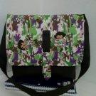 Dora Wild Life Camo, Child Size Messenger, Cross Body Bag