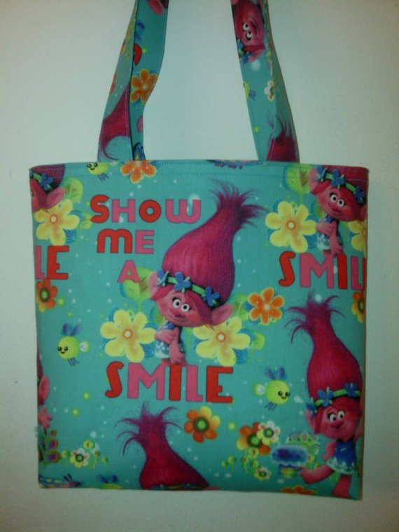 Trolls Inspired, Show Me A Smile Child Tote
