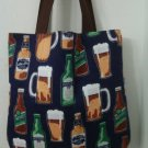 Beer Mugs, Bottoms Up, and Stress Reliever Inspired Tote