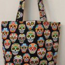 Sugar Skulls, Dia de Muertos, Day of The Dead Tote