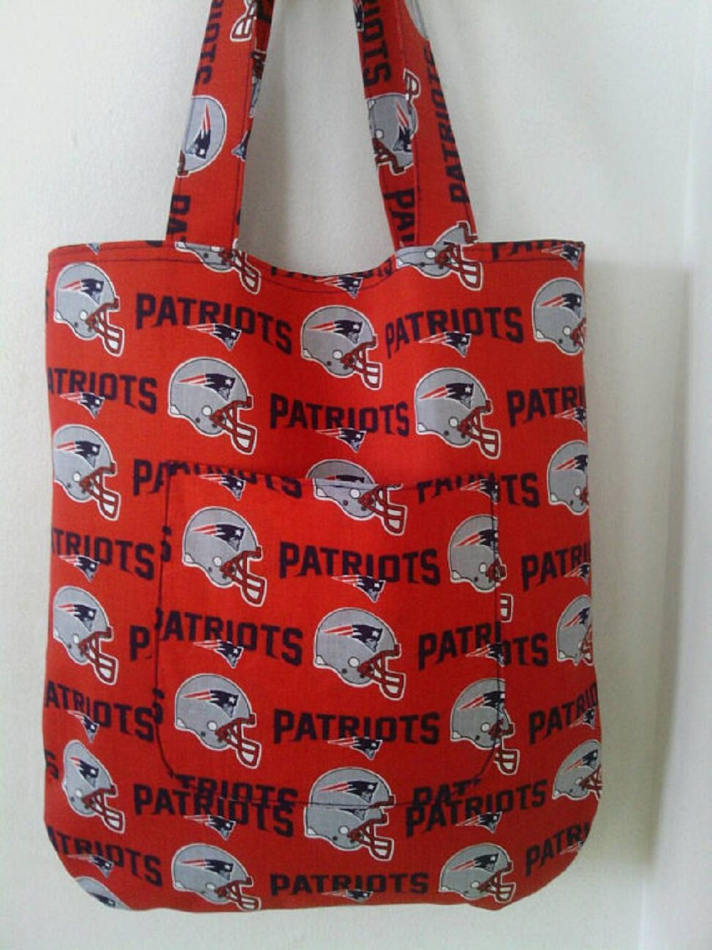 New England Patriots Inspired Handmade Tote