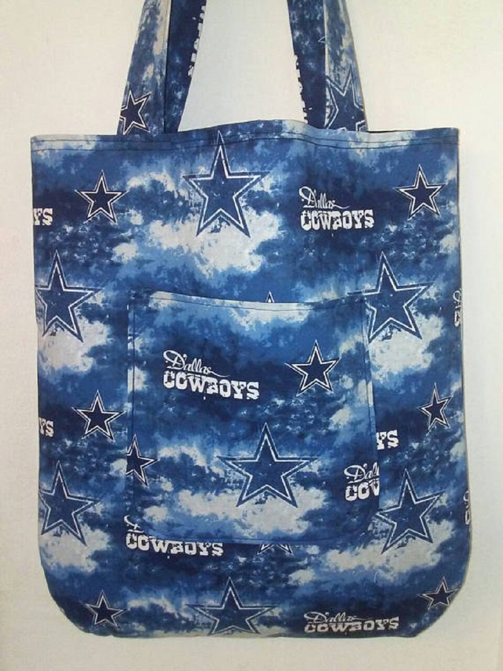 Dallas Cowboys and Stars Inspired Handmade Tote