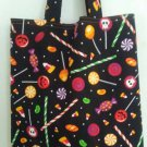 Assortment of Candy Halloween Trick or Treat Tote