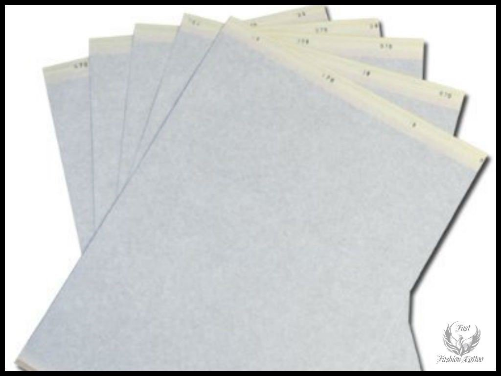 Transfer Stencil Paper 100 Pc Free Hand Or Machine Use