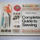 Complete Guide to Sewing by Reader's Digest, 1979 Vintage Illustrated Hardcover