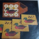 Ducks Needlepoint Coasters Kit New