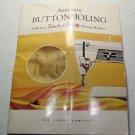 Vintage Singer Professional Buttonholer Instruction Manual Original