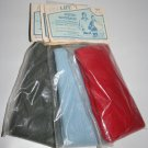 3  Knitted Waistband Waistbands Red Blue Gray Replacement Sewing Mending Repair