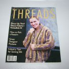 Threads Magazine January 1998 Number 74 Sewing Silk, Pockets, Choosing Pattern +