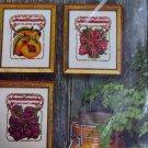 Fruit Jars County Fair Crewel Embroidery Kit Avon Creative Needlecraft NIP
