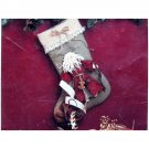 Father Christmas Stocking Pattern 113 The Buckeye Tree