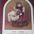 Dreamspinners 137 SADIE 17 in Sewing Crafty Peddler Doll and Clothes Pattern