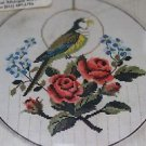 Marks Bird & Roses Count Cross Stitch Embroidery Tapestry Needlepoint Kit Sweden