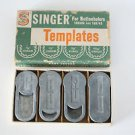 Vintage Singer Buttonholer Template Cams 160668 for 160506 and 160743 Most model