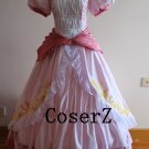 Super Mario Bros Princess Peach Dress, Princess Peach Cosplay Costume