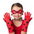 Miraculous Ladybug Cosplay Eye Mask and Gloves