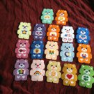 CARE BEAR MAGNET SET