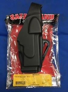 "SAFARILAND X26 TASER HOLSTER NEW IN PACKAGE BLACK PLAIN 1.75"" BELT LOOP"