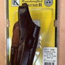 TRIPLE K #196 CARRY LIGHT HOLSTER FITS H&K USP COMPACT 9/40 WALNUT OIL PL NEW