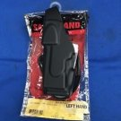 "SAFARILAND X26 TASER HOLSTER NEW IN PACKAGE BLACK PLAIN 1.75"" BELT LOOP LH"