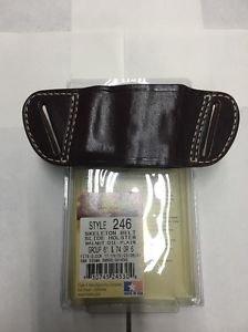 Triple K #246 Belt Slide Holster for GLOCK 17, 19, 22, 23, 26, 27 S&W SIGMA SW9