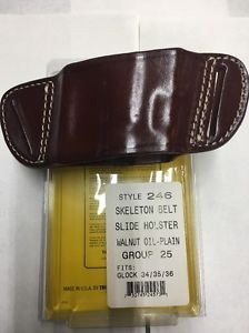 Triple K 246 Belt Slide Holster for GLOCK 34/35/36