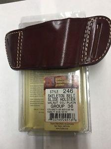 Triple K #246 Belt Slide Holster for BERETTA 92/96/ M-9  OR TAURUS 92/99/100/101