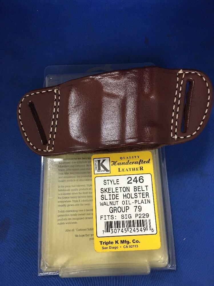 Triple K #246 Belt Slide Holster for SIG SAUER P229