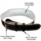 SIR-G, SG- Leather Weight Lifting Padded Belt.
