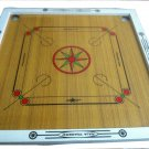 SIR-G Carrom Board with Coins and Striker, small Size Complete Set