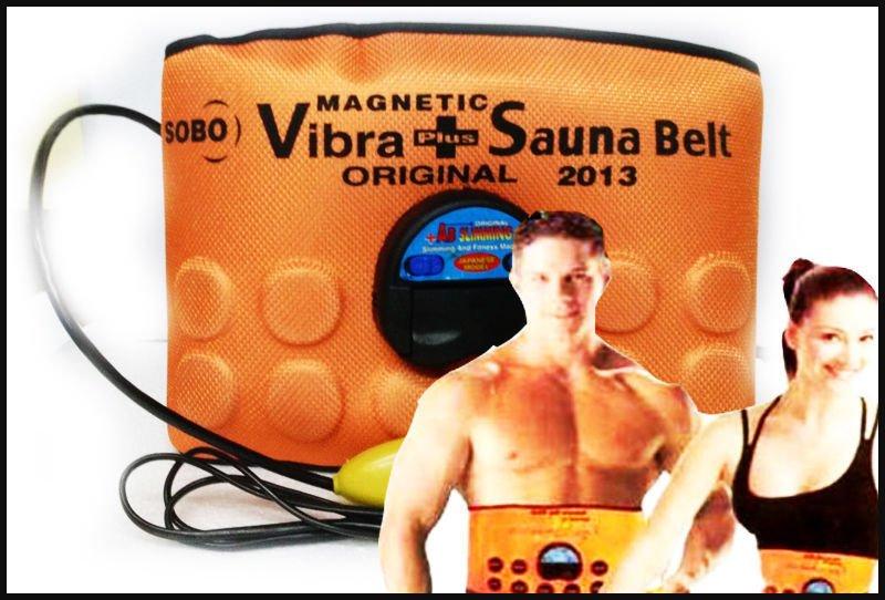 Magnetic Sauna Belt Fat Burner Vibrate Massager.