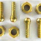 Oxygen Acetylene Welding 1/4 Inch B Size Hose Repair Kit / 2 sets