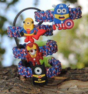 Super Hero Minion Children's Bracelet