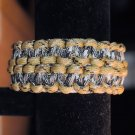Paracord Bracelet Two Color Patterns