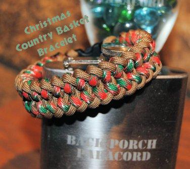 Christmas Country Basket Bracelet
