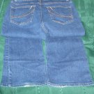 cotton Jeans Womens HIGH SIERRA dark wash SIZE 8 Inseam 31 hip to hip 21""